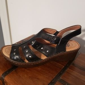 Nurture Leather Sandal